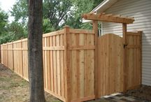 fences and gates (gathered by classicnursery.com)
