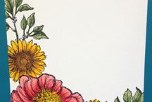 Bloom with hope, SU / SU stamp set