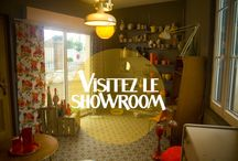 Visitez le showroom... / Découvrez le showroom privé pour retirer vos commandes ou tout simplement jeter un oeil sur les dernières nouveautés. A Mantes-la-Jolie (Ile-de-France) de 10h à 19h30, sur RDV uniquement.