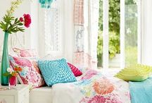 Guest Bed--Design Ideas / Light, Bright, Colorful & Thoughtful.  / by Jennie N