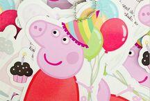 Peppa Pig / Mimos com o tema da Peppa Pig