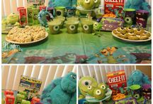 Monsters University Party Ideas / Monsters theme