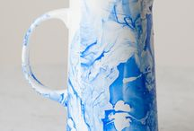 Marble pitcher