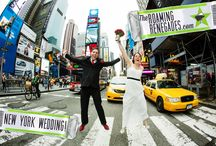 RR: Our NEW YORK wedding! / To get married in NYC was the craziest, most fun and exciting day we could ever imagine, an absolute dream come true!   http://www.theroamingrenegades.com/2014/09/getting-married-in-nyc.html  #nyc #wedding #newyorkwedding #timesquare #travel #love