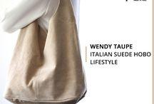 Wendy Taupe bag - Marlafiji
