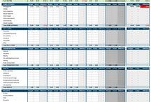 Organization: Binders and Budget