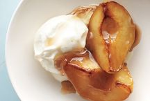 Desserts with pears