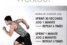 Running/sprinting 