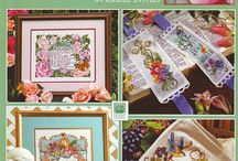 Cross Stitch Patterns / Welcome to 2 Many Sewing Patterns - Specializing in Sewing Patterns of All Eras and Vintage Crochet, Knitting, and Embroidery Transfers in Paper and PDF Format.