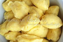 kluski z serem