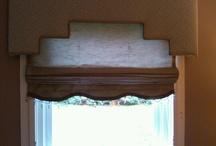 WINDOWS: Dress Them Up / Cornices, valances, panels, drapes...dress your windows up / by Amanda Leffel - AL FLAIR