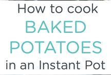 Instant Pot recipes and user info