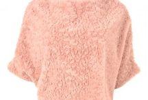 Jayley Faux Fur Ponchos & Tops