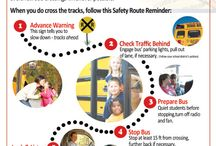 School Bus Driver Safety / Resources for school bus drivers to stay safe around railroad tracks