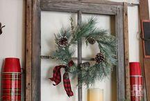 Holiday mantel ideas