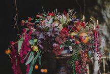 Декор свадьба лофт