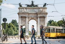 A TRAM RIDE IN MILAN / #RedBullFamily drivers, Carlos Sainz, Daniil Kvyat and Daniel Ricciardo spent some time in the centre of Milan. Of course, the trip had to involve wheels, but this time they were on a historic tram from the Thirties. Full Galleries on http://win.gs/str_galleries . Wallpaper download section on http://win.gs/str_download. #F1 #tororosso #kvyat #sainz #redbull #ricciardo #ItalianGP