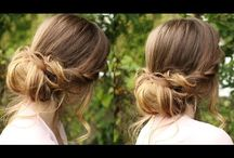 Chignon hairstyles / Chignon hairstyles - Tutorials, tips, and help