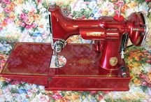 Featherweight sewing machine / by Carol Van Curen-Wright