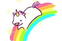 Unicórnio de arco-iris