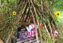 Garden play area ideas / by Fiona Thurley