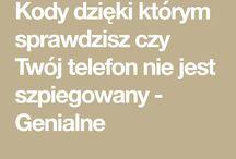 KODY DO TELEFONU SZPIEG
