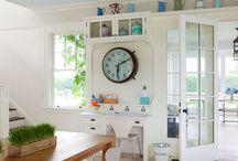 kitchen desks / by Rebecca Graue Chambers