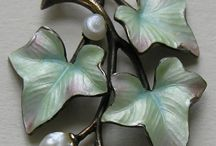 Art-Floral-Joyas / El arte de inspiracion floral o vegetal en las joyas.