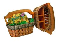 Baskets for parties, serving, and entertaining / Do you want to be the envy on your street? Our handmade beautiful mahogany baskets will bring your parties or gatherings to life!