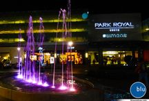 Fountains / Usually equipped with a Blu-Box controller for Intelligent LED Lighting and Water Sequences
