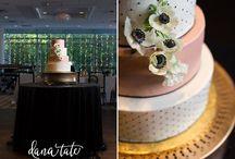 Wedding Cakes / Wedding Cakes as photographed by Dana Tate and Associates. www.danatateweddings.com