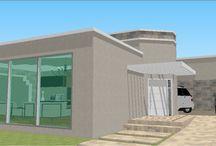 Residencias sketchup / Projetos civil em 3D