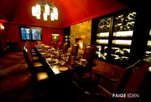 """Out of Bounds / Our Private Dining Room """"Out of Bounds"""", located in Flame Restaurant, is the perfect place to host smaller, intimate, private dinners or receptions. / by Four Seasons Resort Vail"""