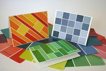Paint Chip Crafts