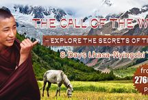 The Call of the Wild- Explore Tibet Lhasa & Nyingchi / Lhasa and  Nyingchi two most destinations in Tibet to explore the secrets and code of Tibet, and we call it The Call of the Wild - http://www.absolutechinatours.com/china-tours/TB-01.html