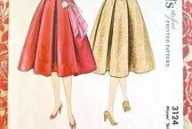 moda de los 50's ♡