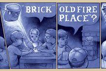 Narrative illustrations and comics