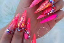 Nails, make-up &nd hair