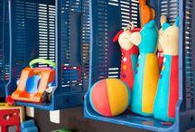 Organizar brinquedos e quartos