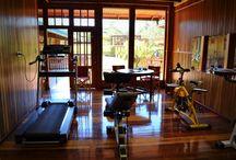 Gym / El Gimnasio del Hotel Cabañas Don Juan de Eldorado (Misiones, Argentina).