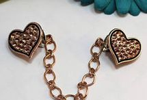 cardigan clips/ jewellery