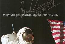 Space Autographs / Autographs available for sale via our website www.universalautographs.co.uk