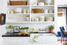 Tiny country house kitchens