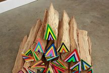 Wood Aztec Triangle