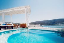 Melian Boutique Hotel & Spa - Milos / Against the magical backdrop of Cyclades in Greece, the Melian Boutique Hotel & Spa in the scenic village of Pollonia in Milos offers a luxurious retreat right next to the beach. / by Travelive
