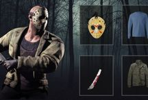 Jason Voorhees Costume / Dress up as one of the most iconic horror villains of all time, Jason Voorhees, whose costume will add some horror to your Halloween party. The costume contains a mask, t-shirt and jacket.Check Out our board.