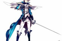 Boy/Girl with weapon ( Manga/Anime )