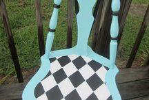 Huonekaluja / Furniture painting