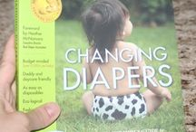 """Changing Diapers Book / """"Changing Diapers: The Hip Mom's Guide To Modern Cloth Diapering"""""""