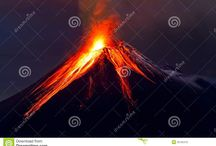 Volcanoes, some of the most fascinating landforms on earth